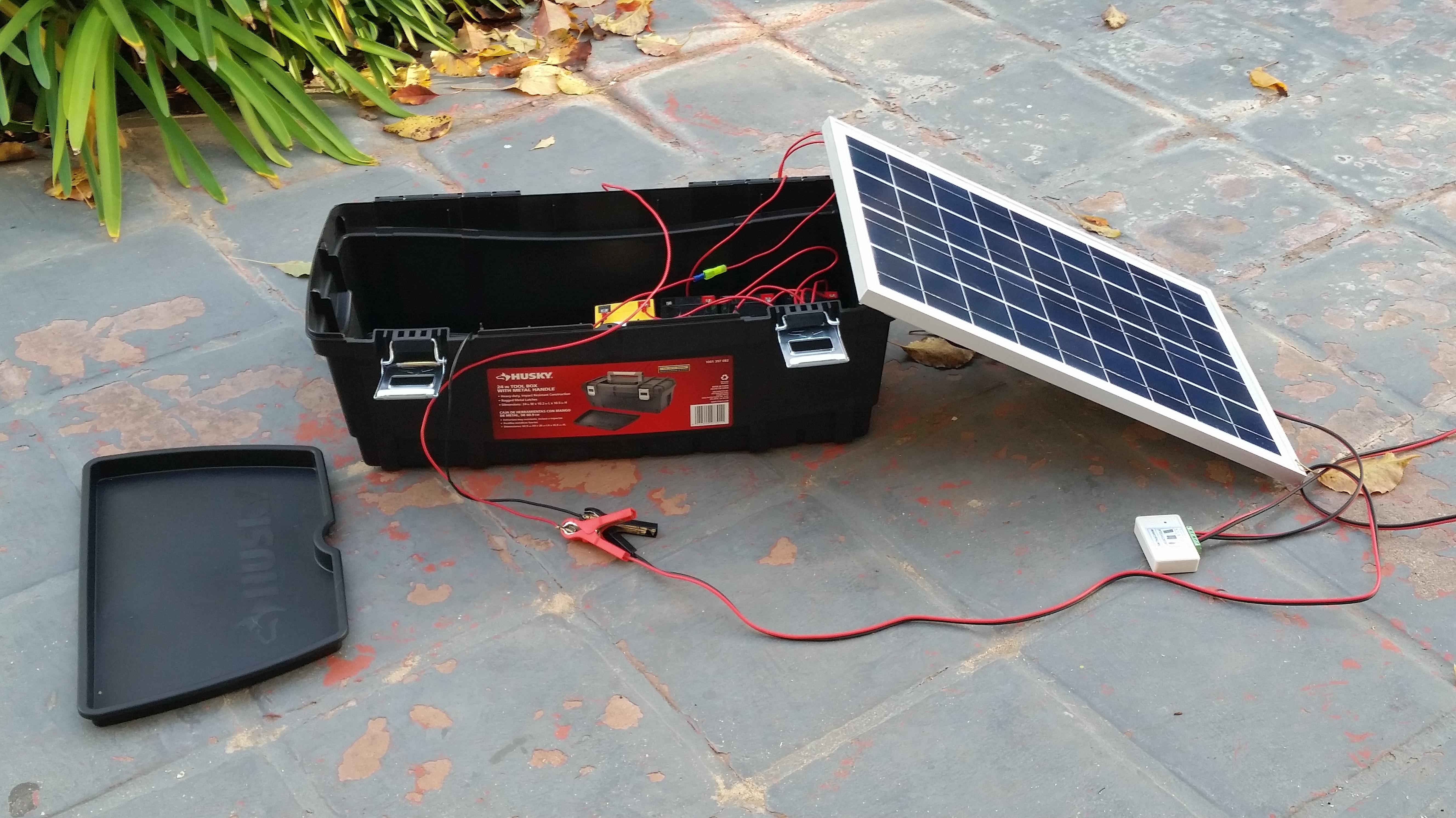 Как сделать солнечную батарею на автомобиль