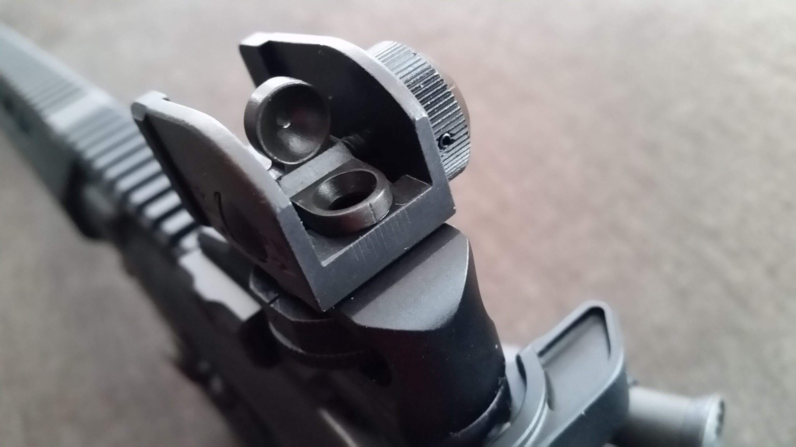 UTG Rear SLim Sight 0